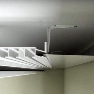 натяжной потолок скрытый профиль