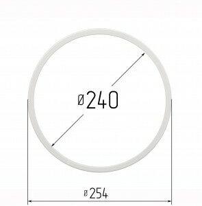 Кольцо протекторное для натяжных потолков 240