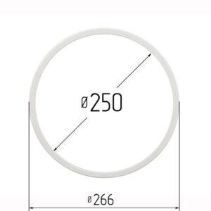 Кольцо протекторное для натяжных потолков 250