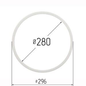 Кольцо протекторное для натяжных потолков 280