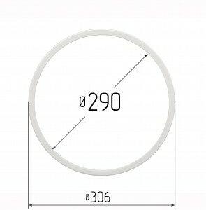 Кольцо протекторное для натяжных потолков 290