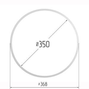 Кольцо протекторное для натяжных потолков 350