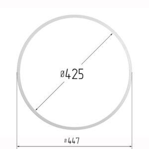 Кольцо протекторное для натяжных потолков 425