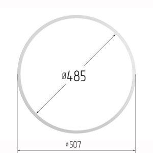 Кольцо протекторное для натяжных потолков 485