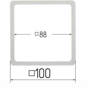 термоквадрат для натяжного потолка 100