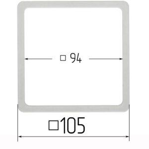 термоквадрат для натяжного потолка 105