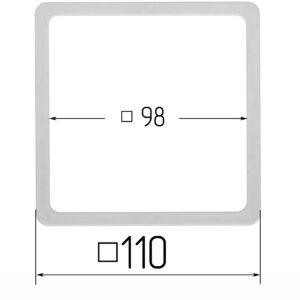 термоквадрат для натяжного потолка 110