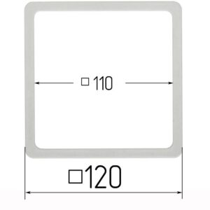 термоквадрат для натяжного потолка 120