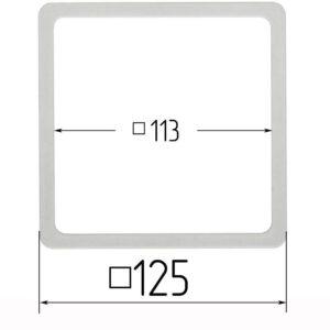 термоквадрат для натяжного потолка 125