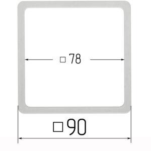 термоквадрат для натяжного потолка 90