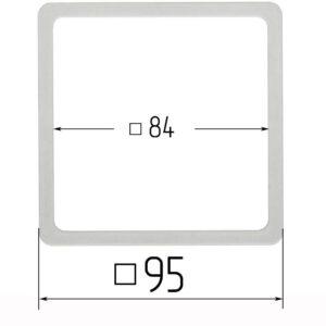 термоквадрат для натяжного потолка 95