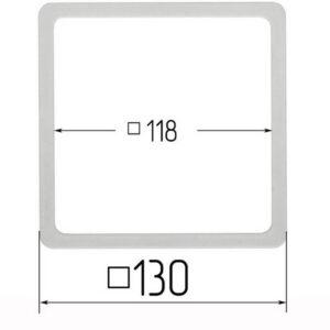 термоквадрат для натяжного потолка 130