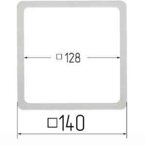 термоквадрат для натяжного потолка 140