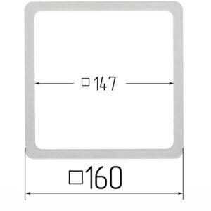 термоквадрат для натяжного потолка 160