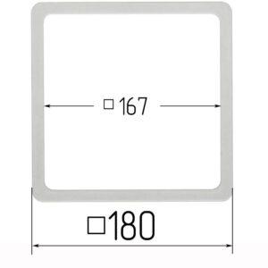 термоквадрат для натяжного потолка 180
