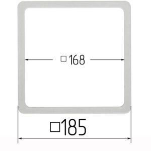 термоквадрат для натяжного потолка 185